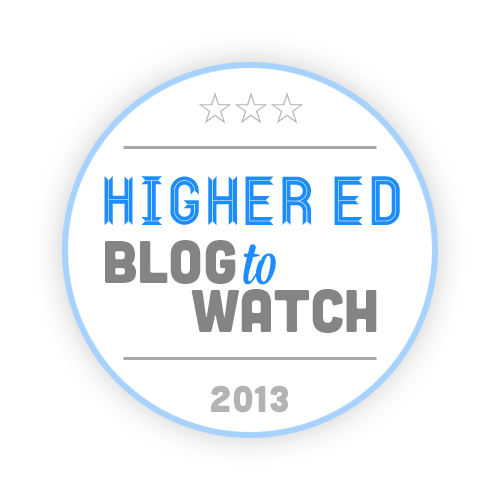 Higher Ed Blog To Watch 2013