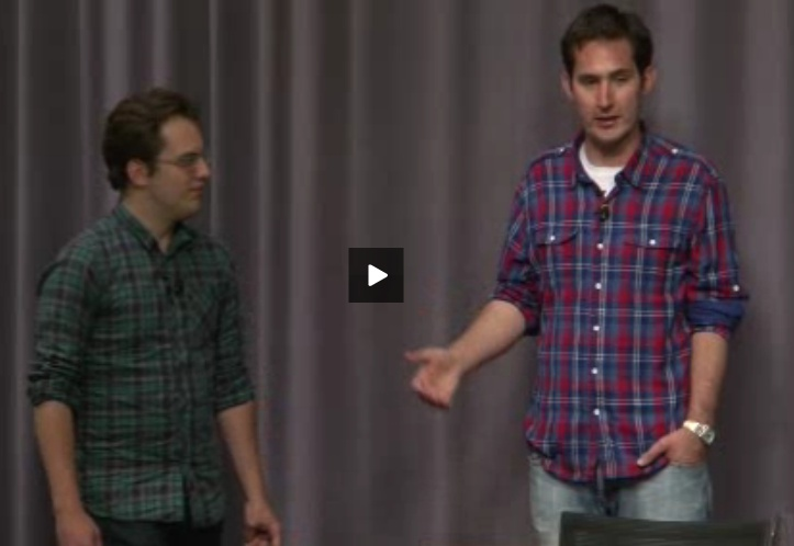 From Stanford to Startup from Kevin Systrom and Mike Krieger