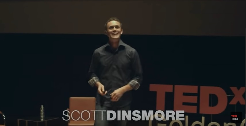 Scott dinsmore tedx talk on how to find do work you love