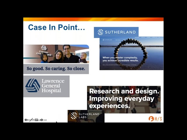 HfS Webinar How Design Thinking Is Changing Business Operations - Design thinking website